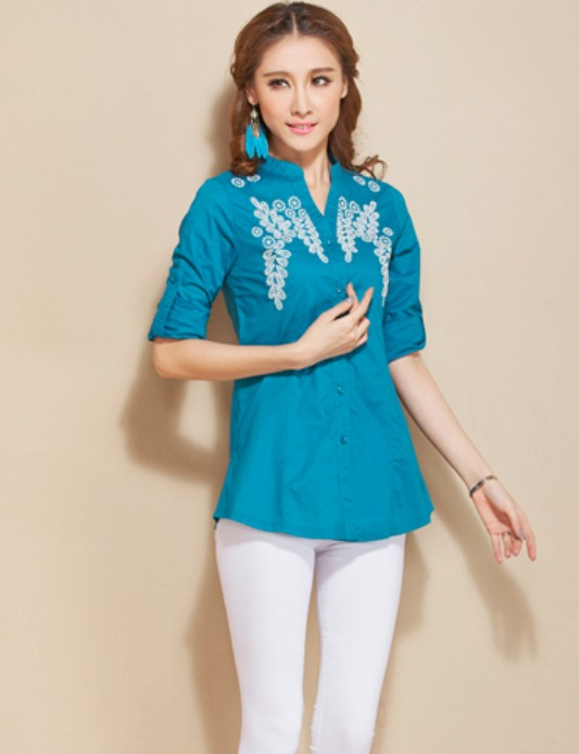Long-sleeved Blouse 4
