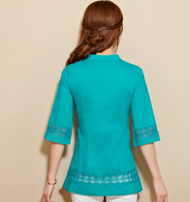 Sleeved Blouse 7