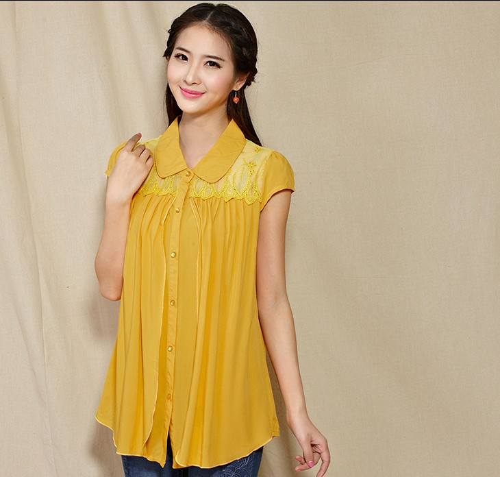 Sleeved Blouse 8