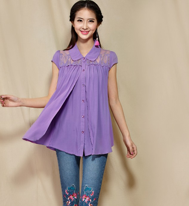Sleeved Blouse 10