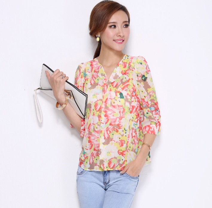Sleeved Blouse 13