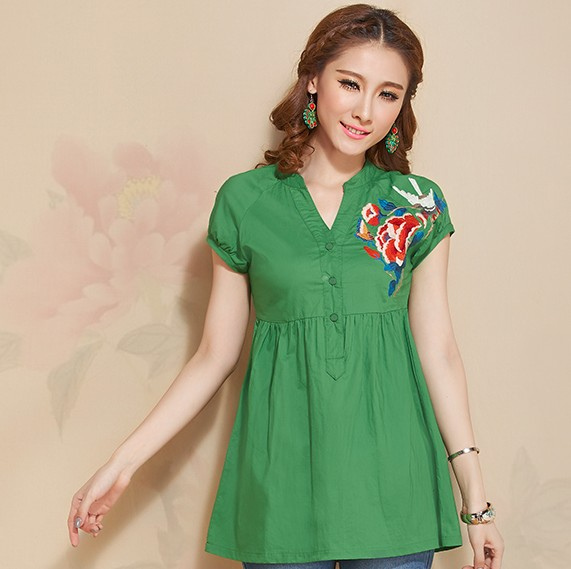 Short-Sleeved Blouse 5